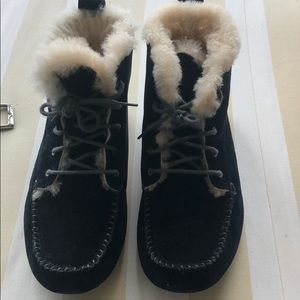 ugg moccasin booties